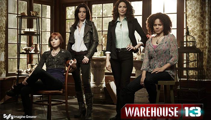 แนะนำซีรีย์เรื่อง Warehouse 13